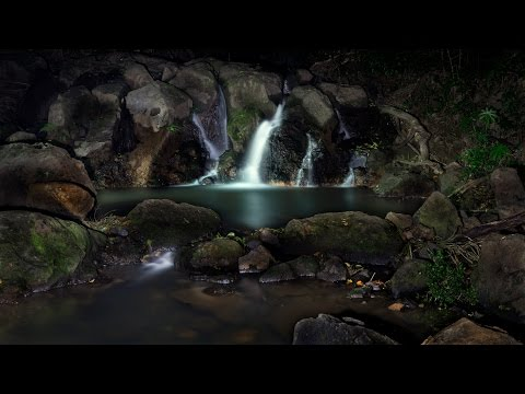 Light painting waterfalls - photography with Sony a99ii (ILCA99M2) / Tamron 28-75 F2.8
