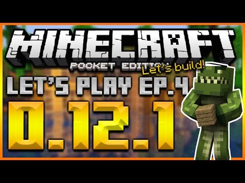 Minecraft pocket edition let 39 s play survival for Modern house minecraft pe 0 12 1