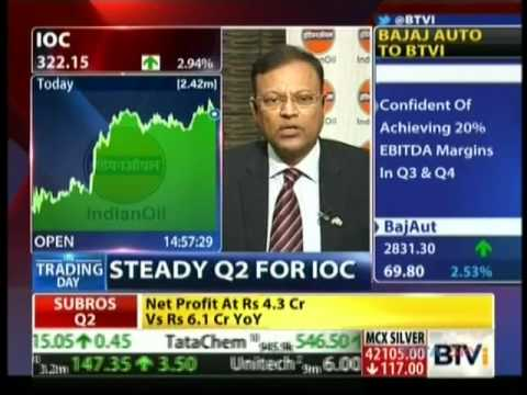 Mr. B. Ashok, Chairman, IndianOil speaks about refineries & logistics on Bloomberg