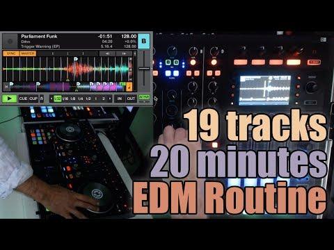 Ethan Leo – My Mix Routine Explained (Traktor Kontrol S8 S4) Dj Tutorial