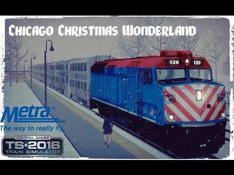 Train Simulator 2018: Winter Chicago, Illinois Ride - Christmas ...
