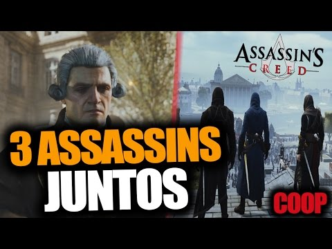 ¡3 ASSASSINS JUNTOS! - Coop con Subs -  Assassin's Creed - RAFITI