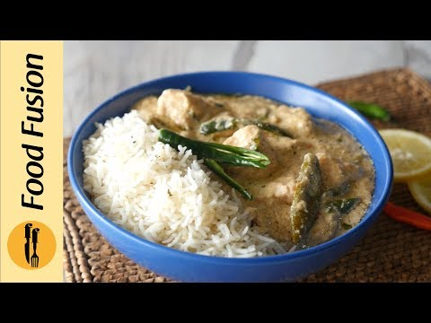 Coconut Chicken With Garlic Herb Rice Recipe By Food Fusion