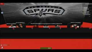 ESPN on Roblox:EBL San Antonio Spurs Interview {PART 2}