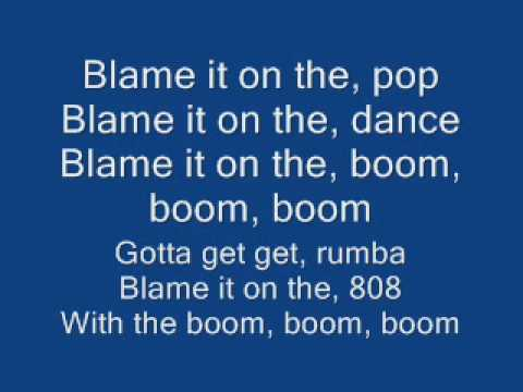 United States of pop 2009 (Blame It On The Pop) [lyrics]