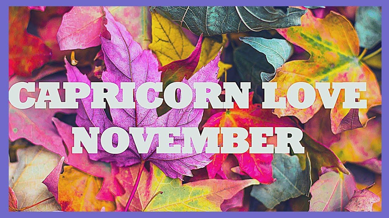 ♑️ Capricorn: A Blast From the Past! 🧡 CAPRICORN NOVEMBER ...