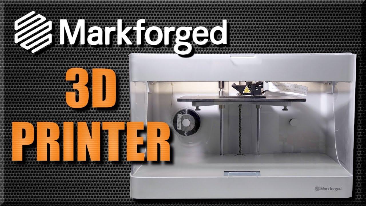 video MarkForged Mark 2 3D Printer