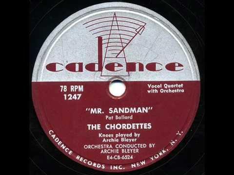 "Tha Chordettes - ""Mr. Sandman"" & ""I Don't Wanna See You Cryin'"""