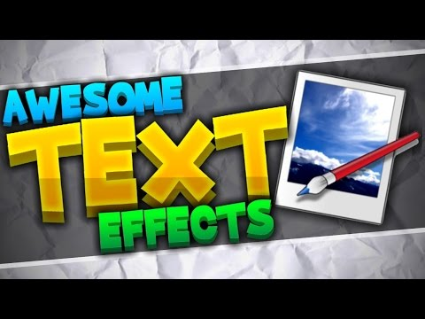 How To Make Your Text Look AMAZING | Paint.NET Tutorial [Advanced Text Effects]