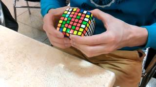 Timelapse 7x7 solving