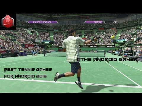 Best Tennis Games For Android/ios Gameplay HD 2016 Top 10