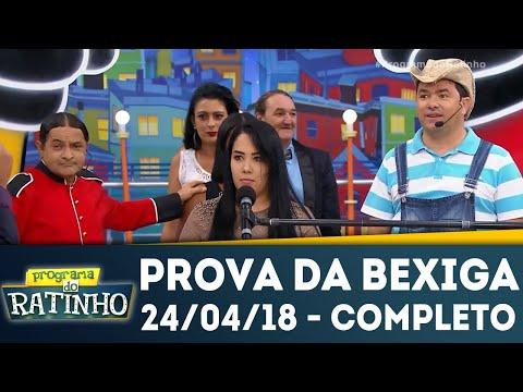 Prova Da Bexiga - Completo | Programa Do Ratinho (24/04/18)