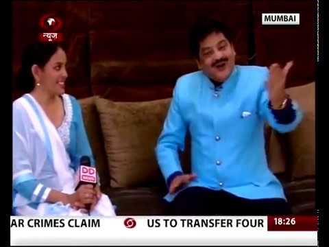 Playback Singer Udit Narayan Interview on New Year 05 Jan 2017