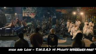 High and Low - S.W.O.R.D vs Mighty Warriors part 9