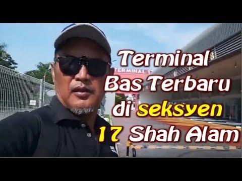 Terminal Baru Stesyen Bas di seksyen 17 shah alam