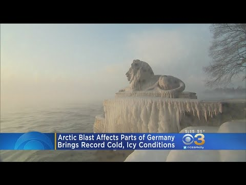 Arctic Blast Brings Record Cold To Germany