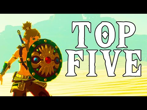 Top 5 Shields - Breath of The Wild (Spoilers)