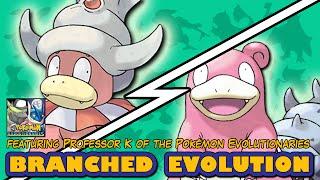 Slowbro vs Slowking | Pokémon Branched Evolution (Featuring Professor K)