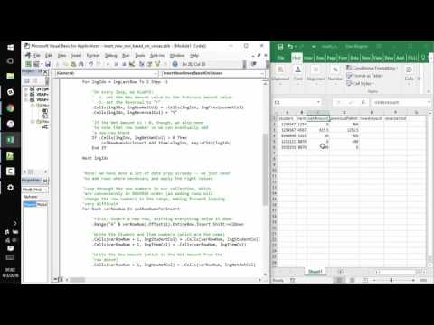 how to find an index based on cell value
