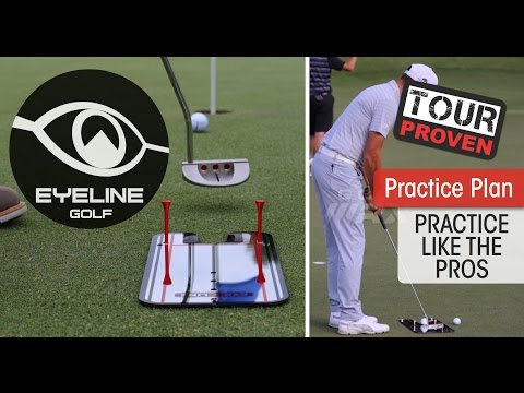 Golf Lessons-How the Pros Use the Putting Mirrors – EyeLine Golf