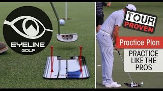 Golf Lessons-How the Pros Use the Putting Mirrors - EyeLine Golf