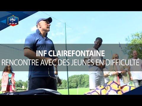 INF Clairefontaine : un entraînement solidaire pour les U15