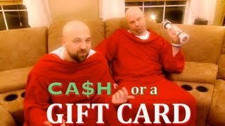 CASH OR A GIFT CARD (A New Christmas Carol by The SSP)