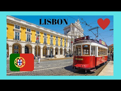LISBON, walking around the beautiful capital of PORTUGAL