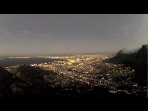 Cape Town City Lights Timelapse