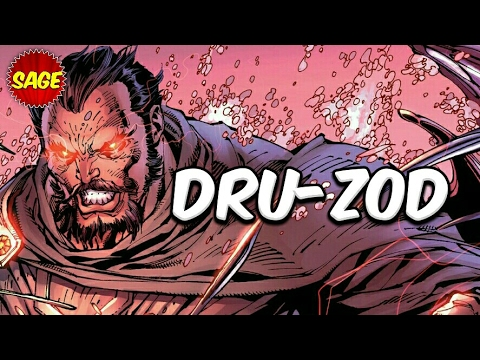 "Who is DC Comics General Zod? Last Commander of Krypton. ""Kneel"" before him."