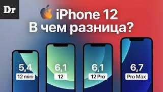 iPhone 12, mini, Pro, Max: в чём отличия?