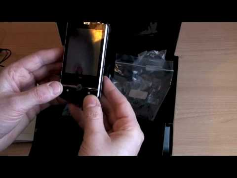 HP iPAQ Data Messenger Unboxing (HD)