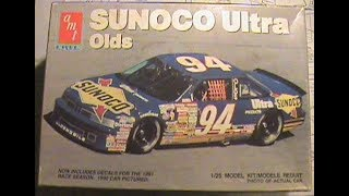 AMT 1991 Terry LaBonte #94 Sunoco Oldsmobile 1/24 Nascar Model Kit Complete