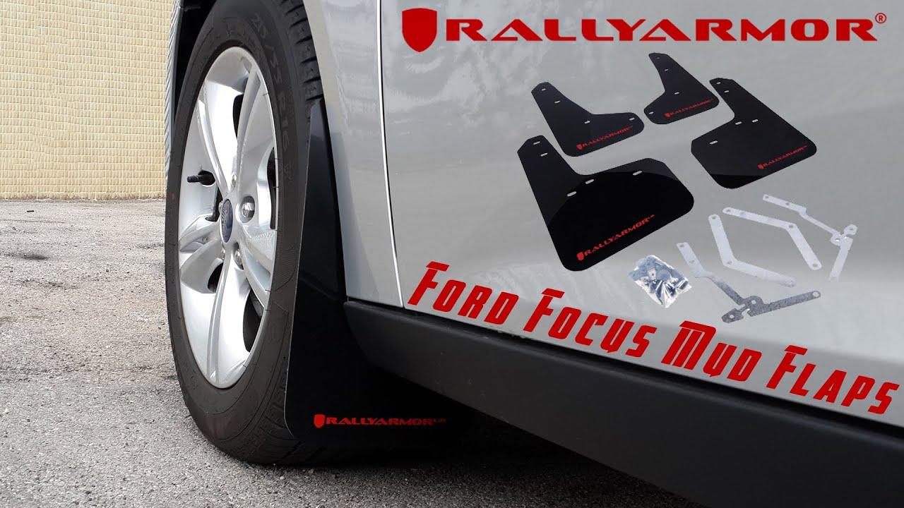 Focus St Rally Armor >> Ford Focus Rally Armor Mud Flaps - YouTube