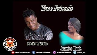 Hitman Walle x Jasmine Black - True Friends [Audio Visualizer]