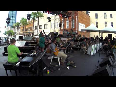 "The Mica Bethea BigBand ""Birth Rite"" 2015 Jax Jazz Fest"