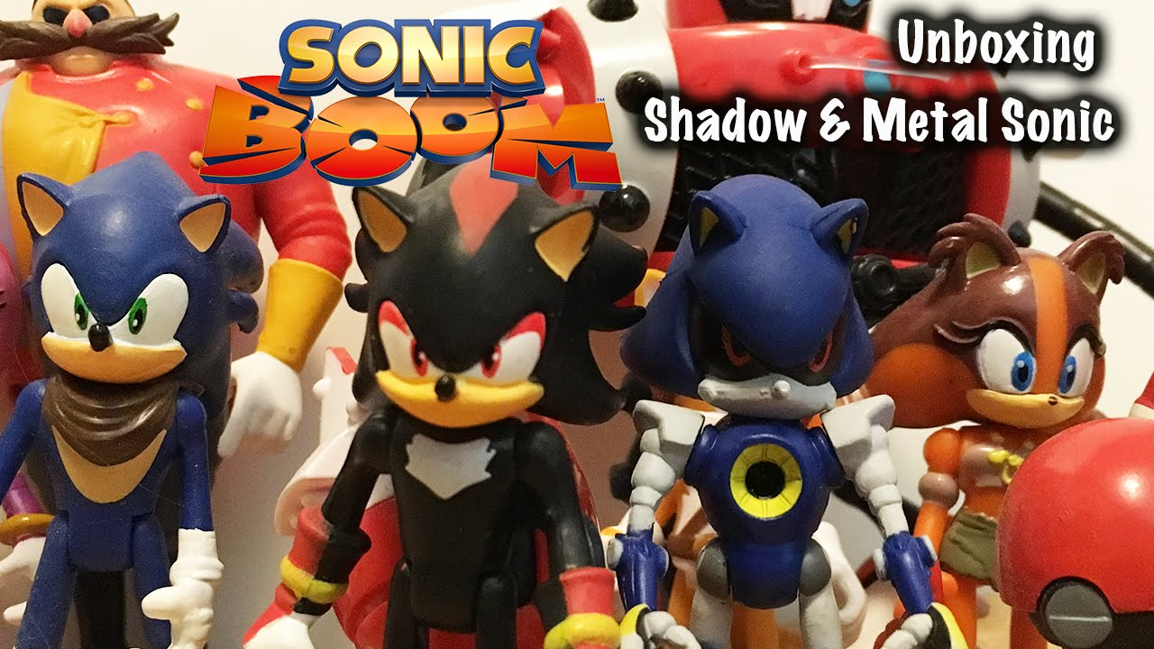 Shadow Metal Sonic Sonic Boom Figures Unboxing Youtube