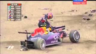 Ужасная авария Квята Япония 2015  Квалификация