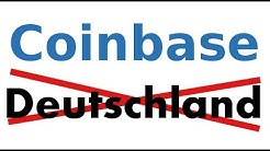 Coinbase in Deutschland nicht mehr verfügbar  STIMMT