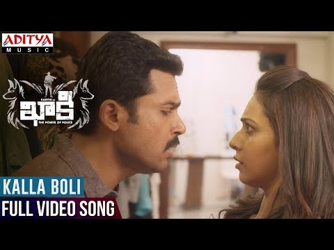 Kalla Boli Full Video Song    Khakee Video Songs    Karthi, Rakul Preet    Ghibran