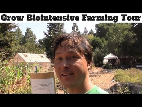 Grow Biointensive Farming Method Demonstration Garden Tour