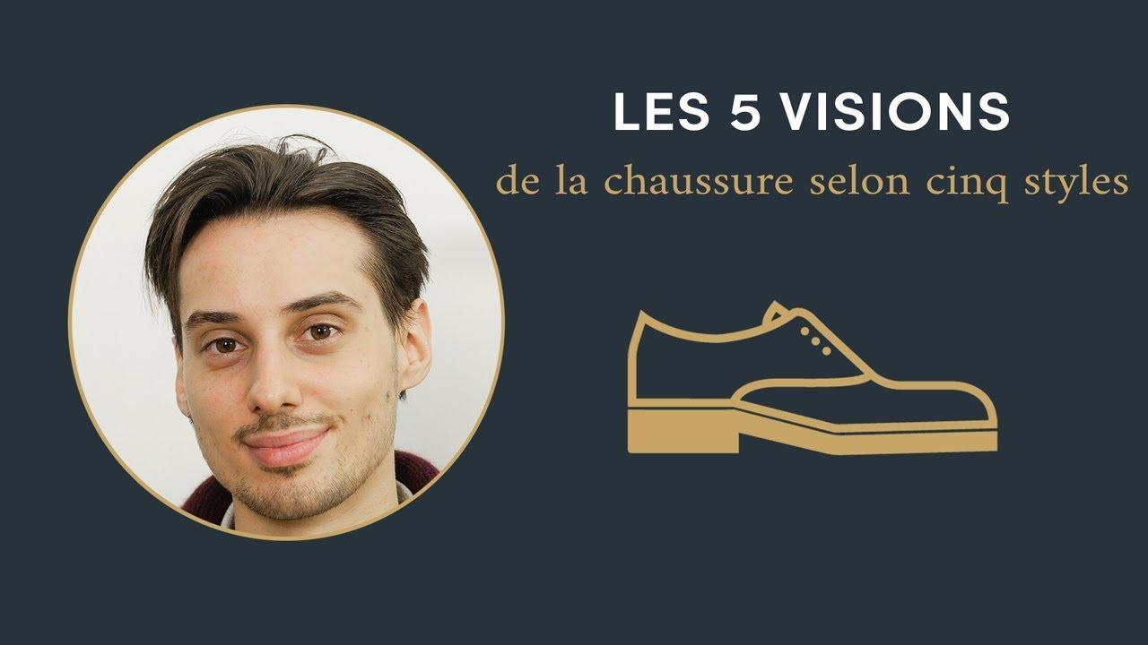 5 visions de la CHAUSSURE selon 5 styles Sape M'en Cinq #3