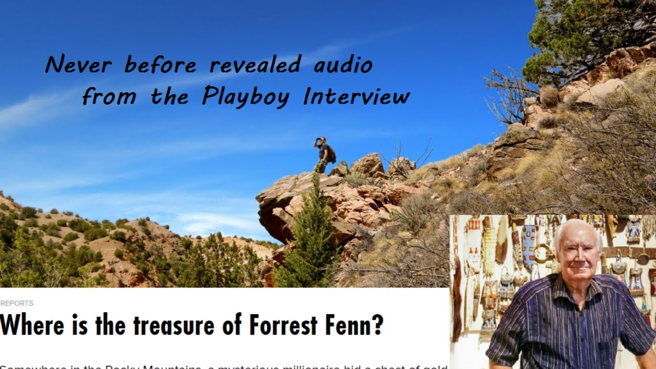 New Interview Forrest Fenn from Fenn Treasure Hunter Jason