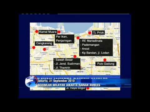 HEBOH~Tahun 2030 Jakarta Diprediksi Akan Tenggelam