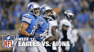 Golden Tate Roasts an Eagles Defender, Scores a Nice TD! | Eagles vs. Lions | NFL