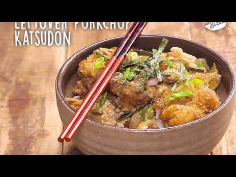 Leftover Porkchop Katsudon