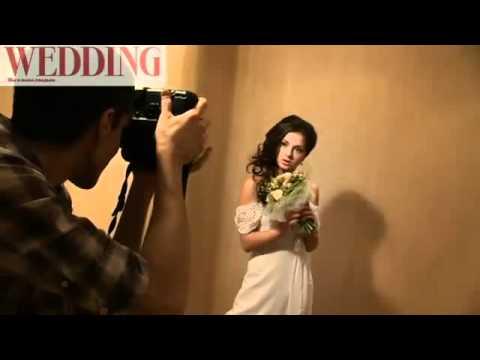 Нюша в фотосессии свадебного журнала Wedding