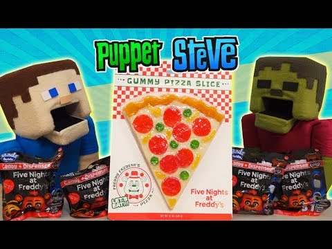 Five Nights at Freddy&39;s PIZZA CANDY Pizzeria Simulator Blind Bag FNAF Unboxing Jumpscare FYE