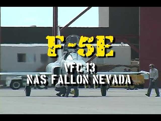 F-5 at Fallon, Nevada