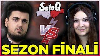 SoloQ SEZON FİNALİ! TEAM OYUNBROS vs TEAM HAZEL | Bir League of Legends Yarışması